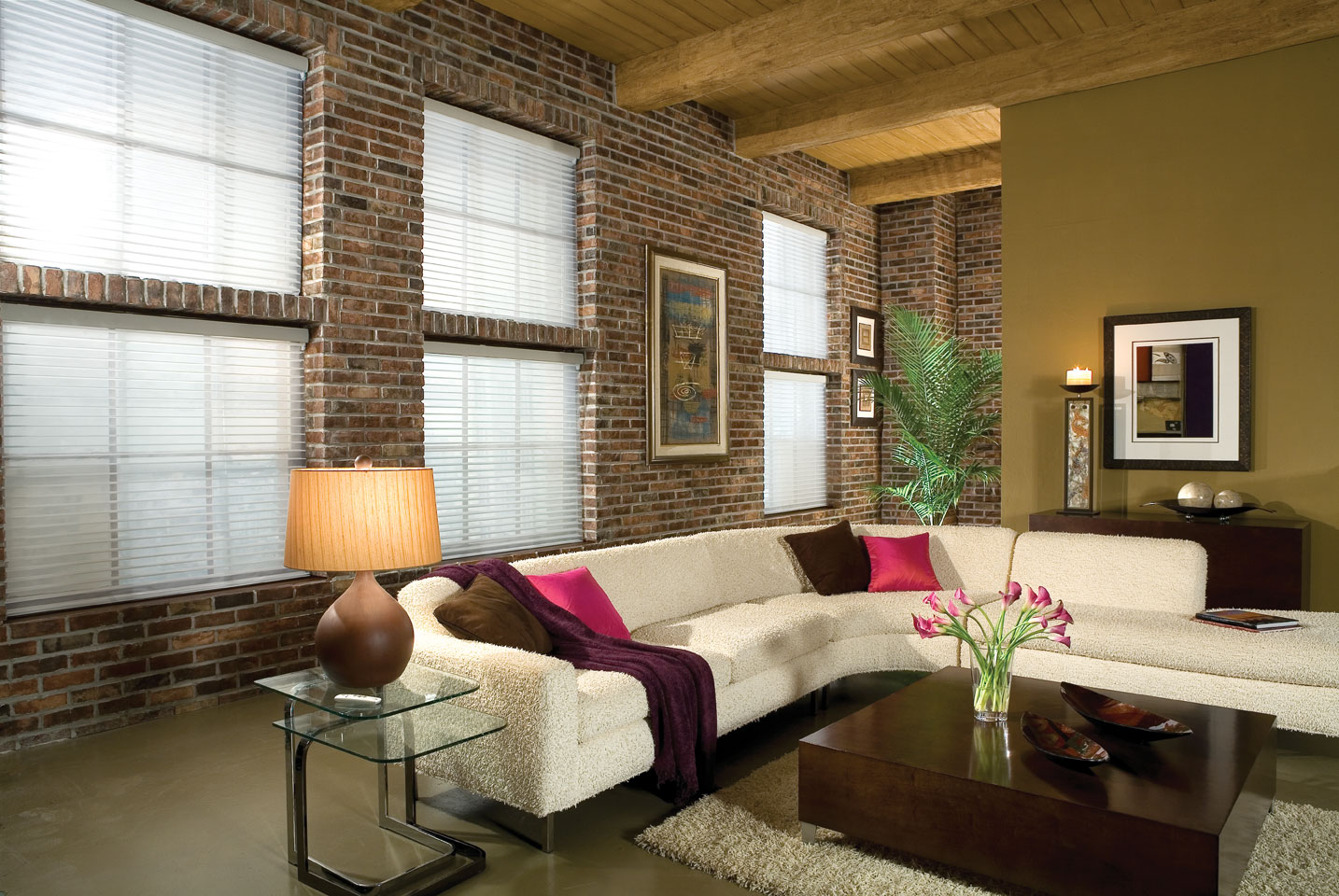 shades for living room area
