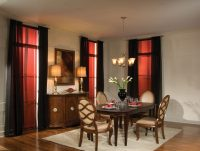 shades for dining room area